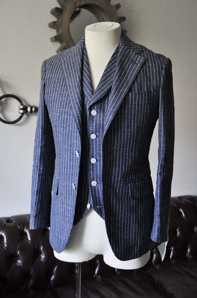 TC_DSC1181 お客様のスーツの紹介 名古屋の完全予約制オーダースーツ専門店DEFFERT