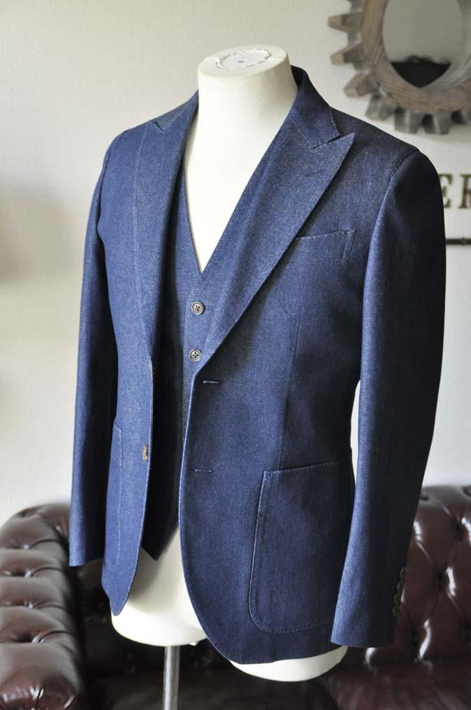 TC_DSC2717 お客様のスーツの紹介 名古屋の完全予約制オーダースーツ専門店DEFFERT