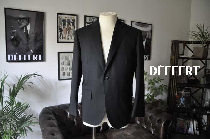 bb1867050389e2d3041456b4fa67c6a7 お客様のスーツの紹介-CANONICO ブラックヘリンボーン-