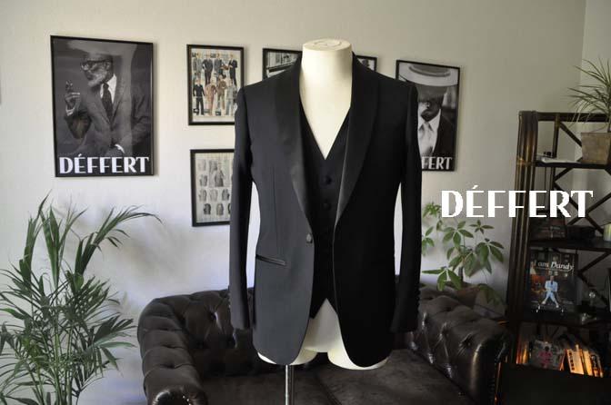 cc20d7ed116a039687c4bf76eab8f82b お客様のウエディング衣装の紹介-Biellesi ダークネイビーショールカラータキシード-