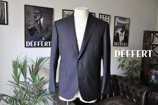 ce5b336f016ef3798ec90344eaf906a0 お客様のスーツの紹介-Biellesi 無地ネイビー-