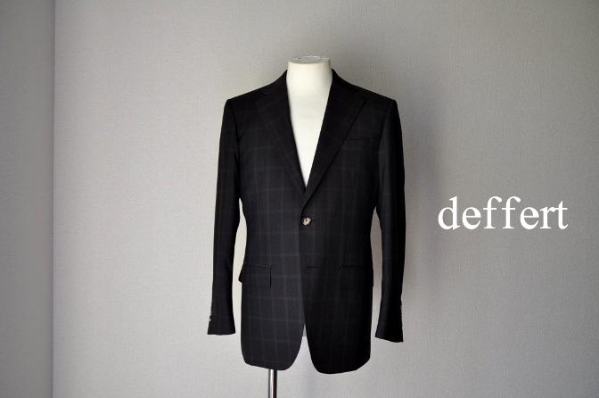 d44 お客様のスーツの紹介-BIELLESI ブラウンチェック-