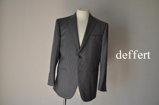 d53 お客様のスーツの紹介-BIELLESI グレーストライプ-