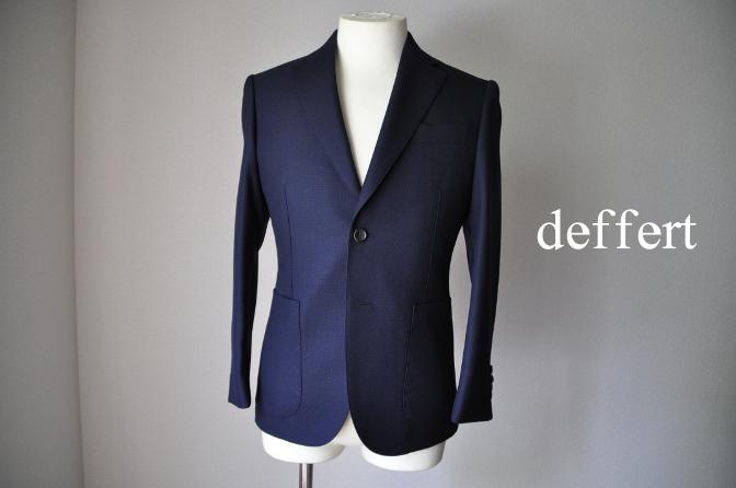 d61 お客様のジャケットの紹介-CANONICO ホップサックジャケット-