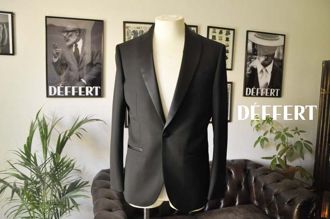 de36f5fc0aad3a01c57be0940554f12b お客様のウエディング衣装の紹介-Biellesi ブラックショールカラータキシード-