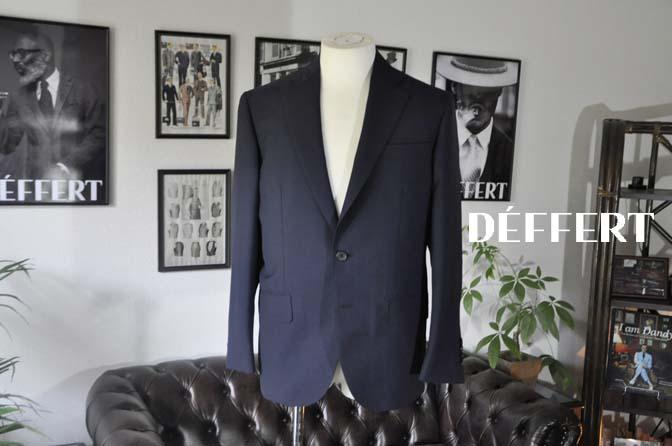ea3b08b18aa48014be1ffa18ef738e43 お客様のスーツの紹介-DARROW DALE 無地ネイビースーツ-