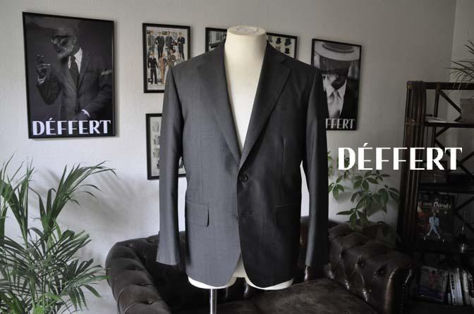 f35a6c40de0828772f2036cc0d6411fc お客様のスーツの紹介-Biellesi グレーストライプ- 名古屋の完全予約制オーダースーツ専門店DEFFERT