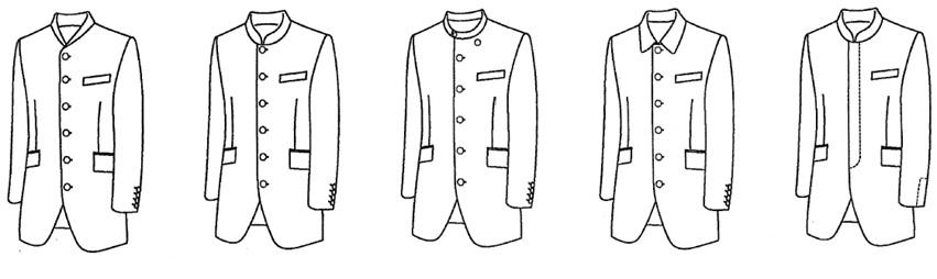 jacketstand ジャケットの形状 名古屋の完全予約制オーダースーツ専門店DEFFERT