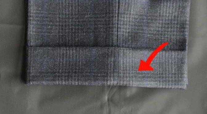 スーツのパーツ名称「かぶら」