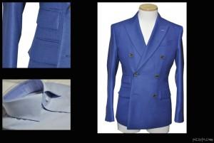 kawamurafb-300x201 お客様のスーツの紹介 「CANONICO」のブルー生地 ダブル6*2