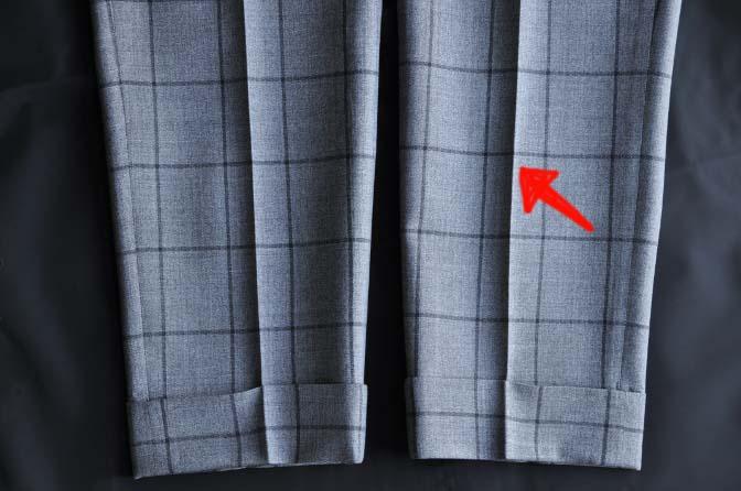 kuriisu-1 スーツのパーツ名称「クリース」 名古屋の完全予約制オーダースーツ専門店DEFFERT