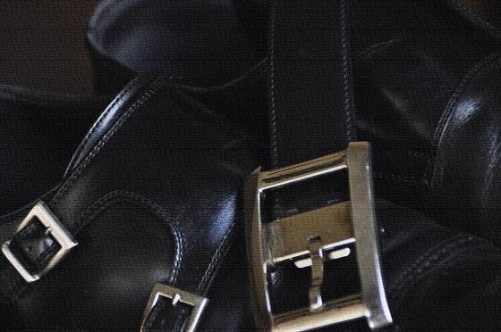 kututoberuto ベルトと靴の話