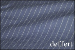 nakanishisama1-300x200 ご注文いただいたスーツの紹介-DARROW DALEネイビーフランネルのストライプ-
