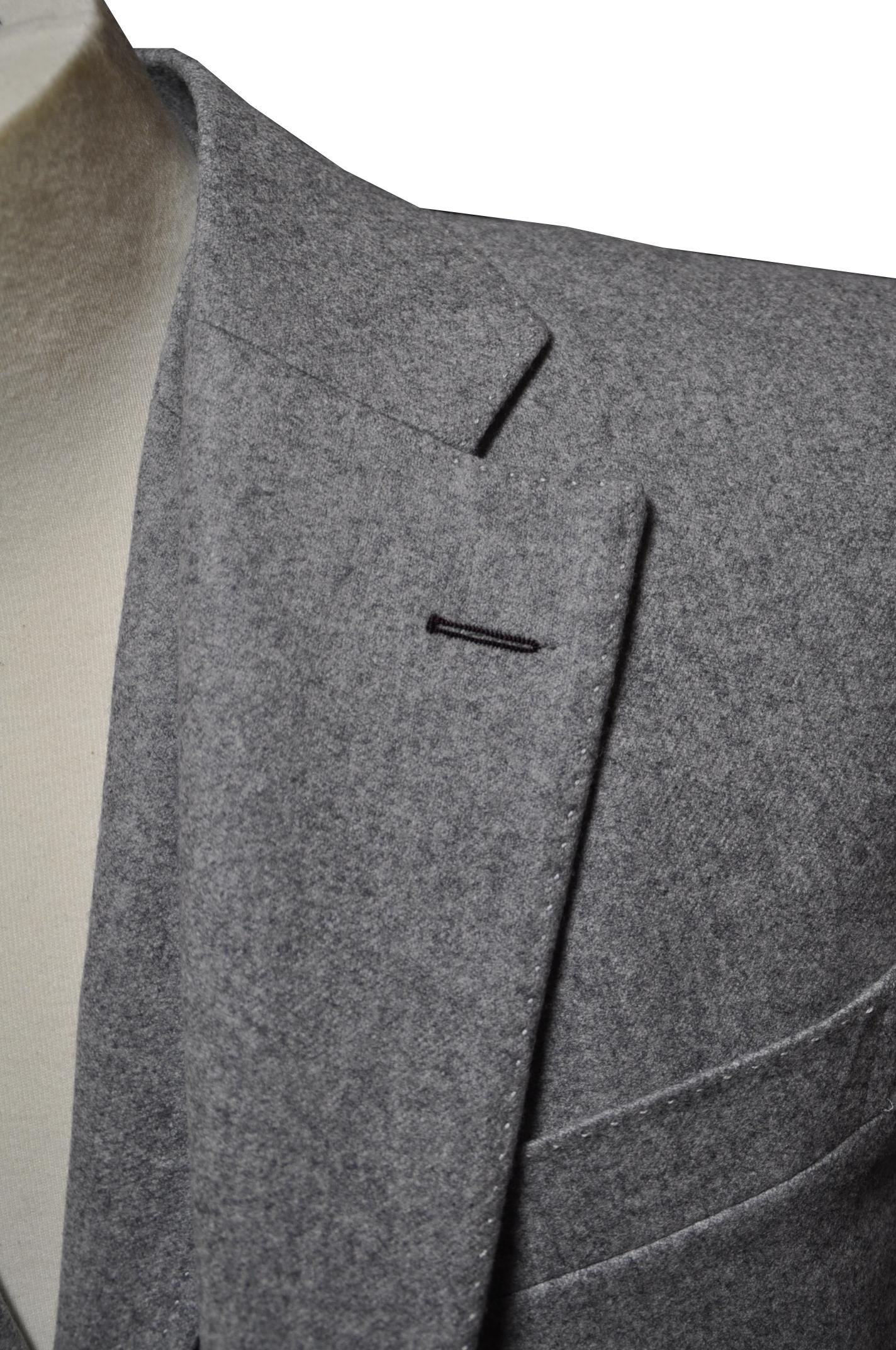 okd81 ボタンホール糸色変更 名古屋の完全予約制オーダースーツ専門店DEFFERT