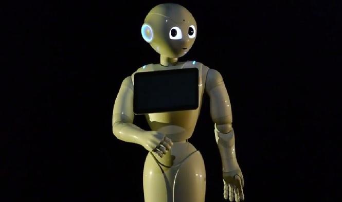 robot ロボットにスーツ??