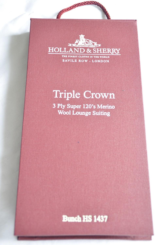 s_DSC0324 HOLLAND&SHERRY Triple Crown 生地写真のスライドショー公開