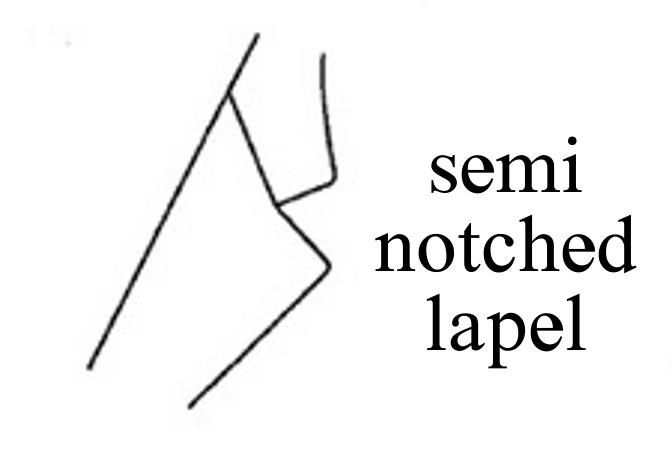 semi-notched-lapel セミノッチドラペルとは?